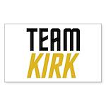 Team Kirk Sticker (Rectangle 10 pk)
