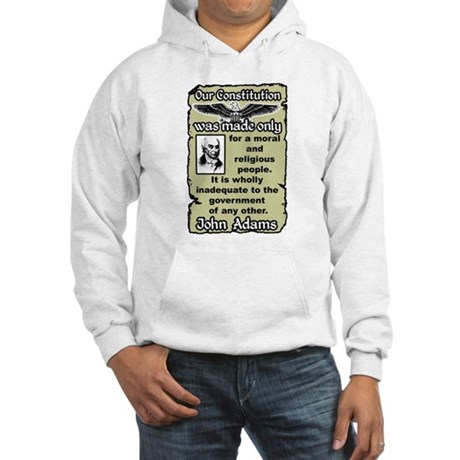"""Moral And Religious People"" Hoodie"