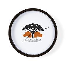 Etosha Wall Clock