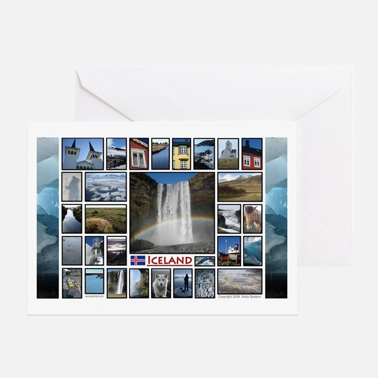 LG Cal - Iceland copy Greeting Cards