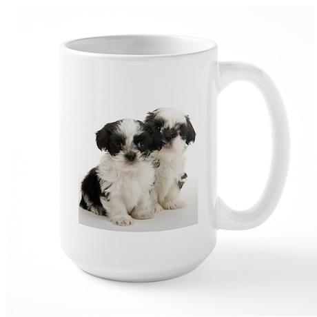 Shih Tzu Puppy Large Mug