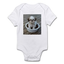 Shih Tzu Puppy Infant Bodysuit