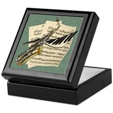 Music Design Keepsake Box