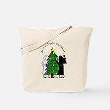 Catholic Nuns Christmas Tote Bag