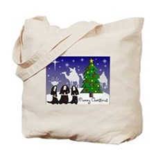Catholic Nuns Christmas Tote Bag