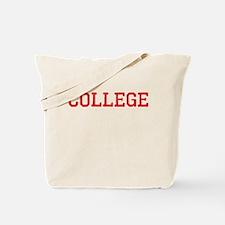 College Vintage Tote Bag