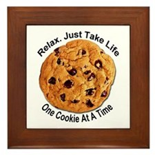 """One Cookie"" Framed Tile"