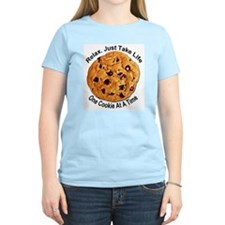 """""""One Cookie"""" Women's Pink T-Shirt"""
