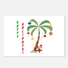 Holiday Palm Tree Postcards (Package of 8)
