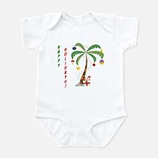 Holiday Palm Tree Infant Bodysuit