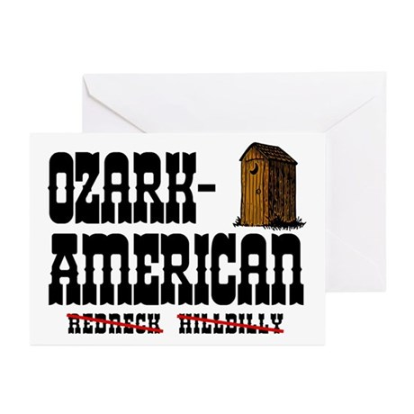 Ozark-American Greeting Cards (Pk of 10)