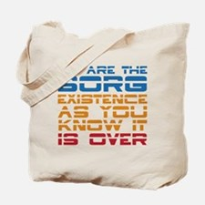 We Are The Borg Tote Bag