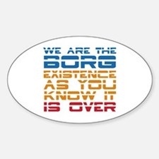 We Are The Borg Decal