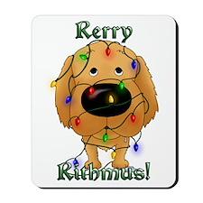 Golden - Rerry Rithmus Mousepad