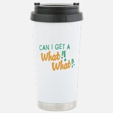 A What What Travel Mug