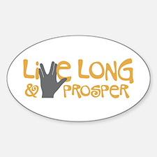 Live Long & Prosper Decal