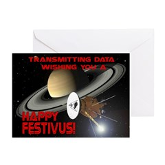 """Festivus Greetings from Space"" Cards (P"