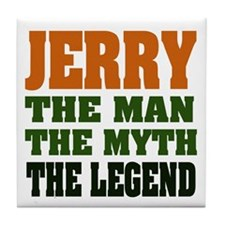 JERRY - The Legend Tile Coaster