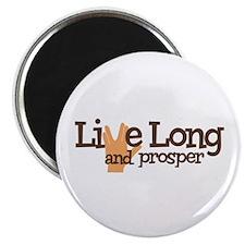 """Live Long and Prosper 2.25"""" Magnet (10 pack)"""