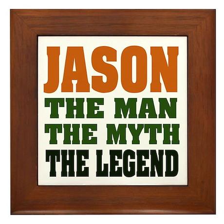 JASON - The Legend Framed Tile