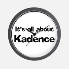 It's all about Kadence Wall Clock