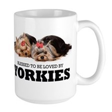 Blessed By Yorkies Mug