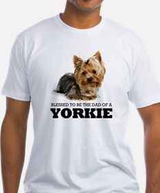 Blessed Yorkie Dad Shirt