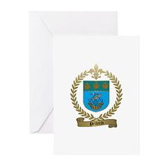 PELLERIN Family Crest Greeting Cards (Pk of 10