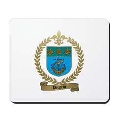 PELLERIN Family Crest Mousepad