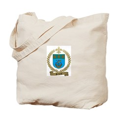 PELLERIN Family Crest Tote Bag