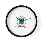 PELLERIN Family Crest Wall Clock