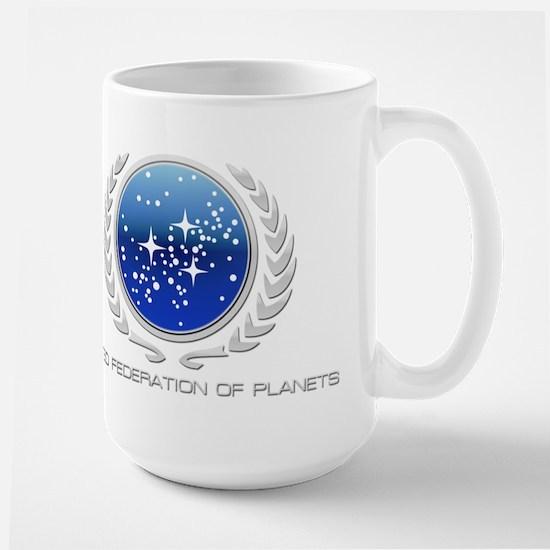 United Federation of Planets Large Mug
