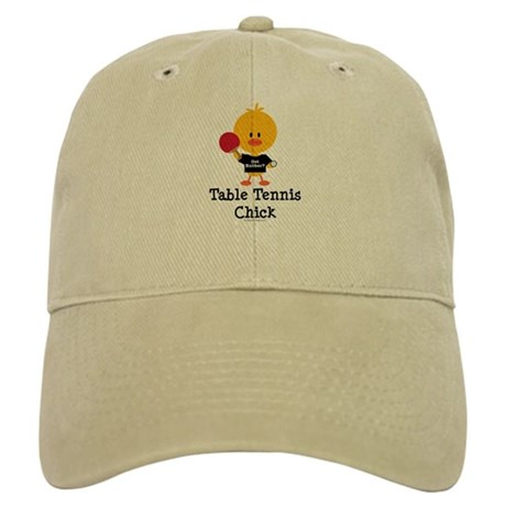 Table Tennis Chick Cap