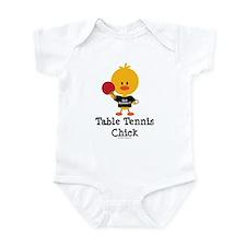 Table Tennis Chick Infant Bodysuit