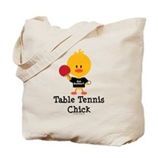 Table Tennis Chick Tote Bag