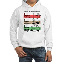 The Steps of Festivus Hooded Sweatshirt