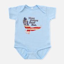 THESE COLORS DON'T RUN Infant Bodysuit