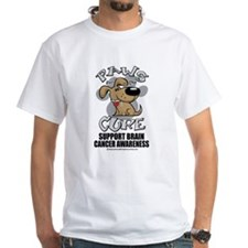 Brain Cancer Paws for the Cur Shirt