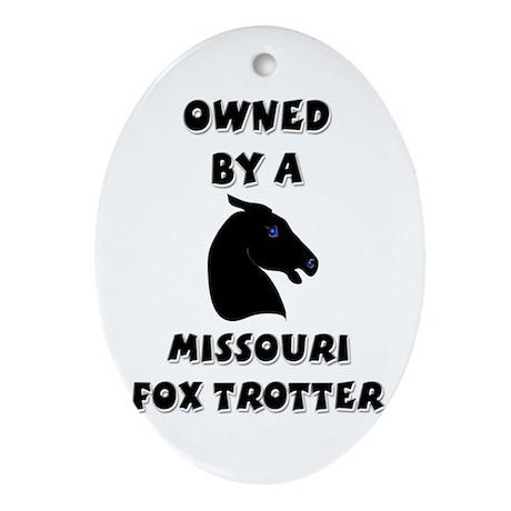 Missouri Fox Trotter Oval Ornament