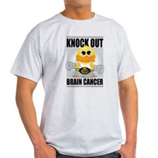 Knock Out Brain Cancer T-Shirt