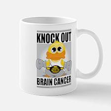 Knock Out Brain Cancer Mug