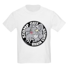 Stomp Out Brain Cancer T-Shirt