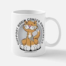 Brain Cancer Cat Mug