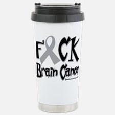 Fuck Brain Cancer Travel Mug