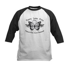 Brain Cancer Tribal Butterfly Tee