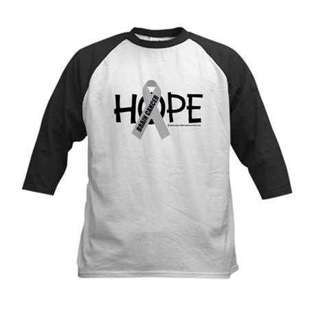 Brain Cancer Hope Kids Baseball Jersey