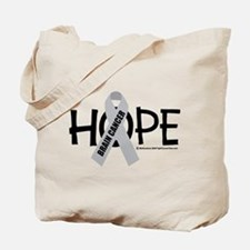 Brain Cancer Hope Tote Bag