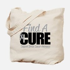 Brain Cancer Find A Cure Tote Bag