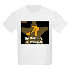 My Daddy Is A Rockstar Kids T-Shirt