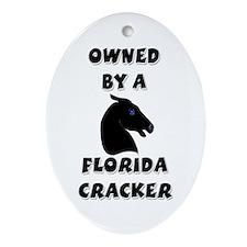 Florida Cracker Oval Ornament